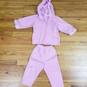 Cherokee baby girls outfit 2T